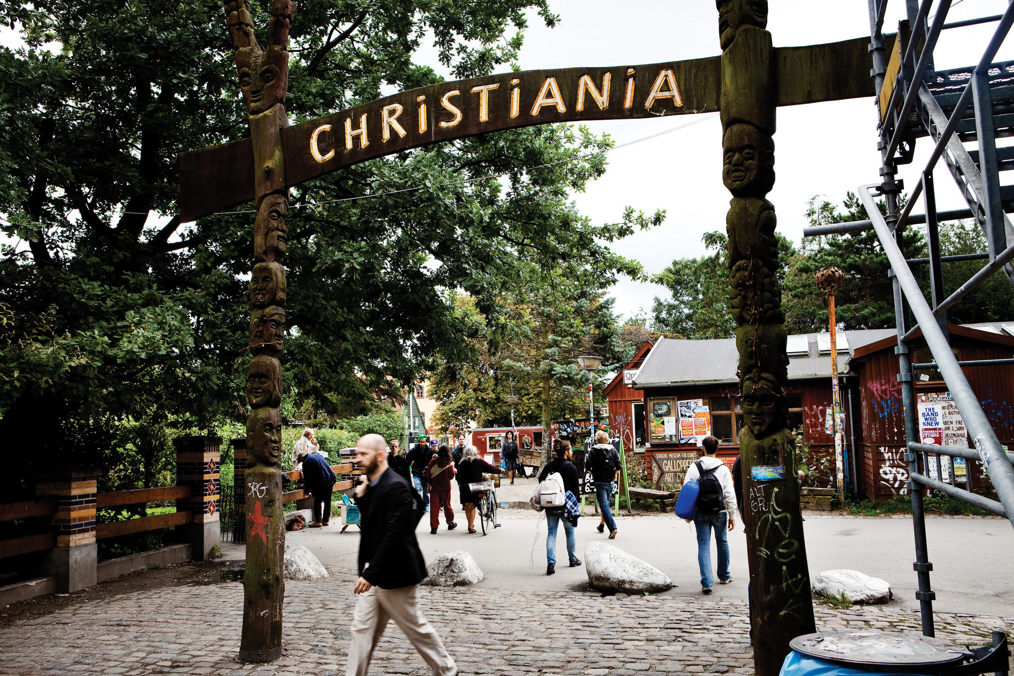 Christiania Entrance